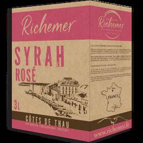 3 Liter BIB Syrah Rosé, Côtes de Thau IGP