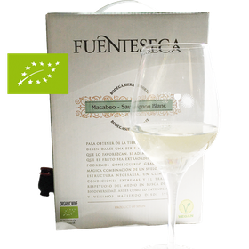 3 Liter BIB Fuenteseca, Macabeo Sauvignon, Utiel Requeña DOP