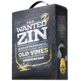 3 Liter BIB Zinfandel 'The Wanted Zin', Puglia IGP