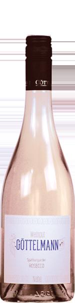 2018 Rosecco, Rosé Frizzante, Qualitätswein, Spätburgunder