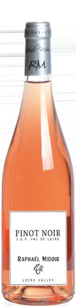 2018 Pinot Noir Rosé IGP, Val de Loire, Raphael Midoir
