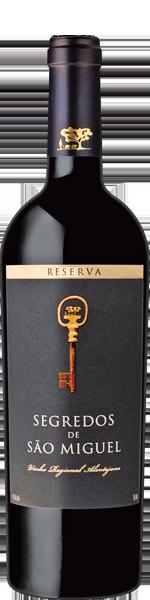 2018 Segredos de São Miguel Reserva, Vinho Regional Alentejo