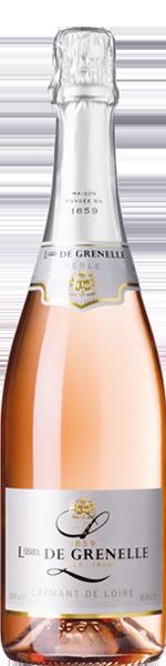 Louis de Grenelle 'Perlé', Crémant de Loire Rosé AOP, Brut