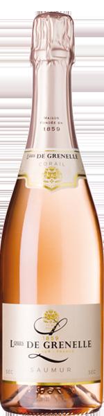 Louis de Grenelle 'Corail', Saumur Rosé AOP, Sec 0.375 Ltr.