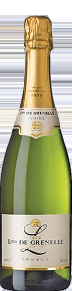 Louis de Grenelle 'Ivoire', Saumur Blanc AOP, Brut