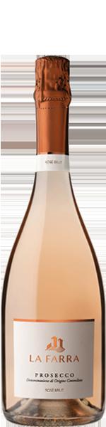 La Farra, Prosecco DOC, Rosé Brut Spumante