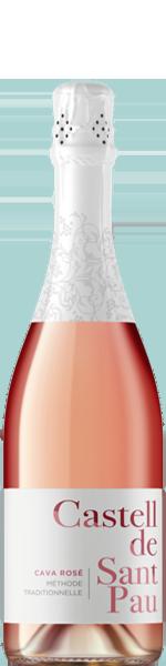 Castell de Sant Pau, Cava Rosé Brut DO
