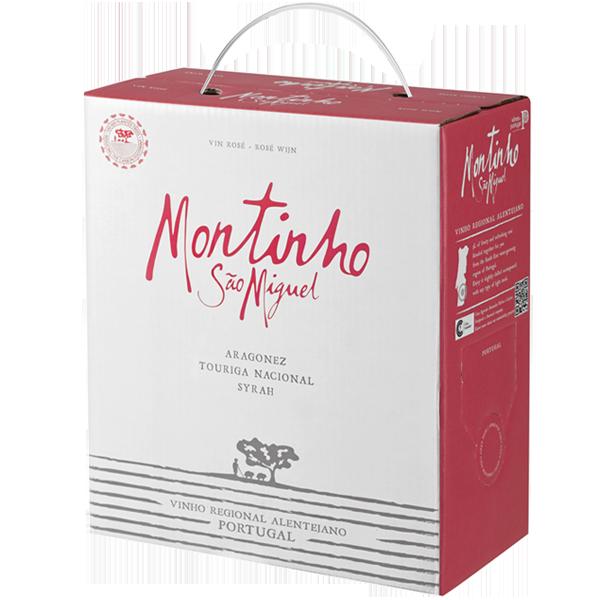 3 Liter Montinho Rosé, BIB, Portugal