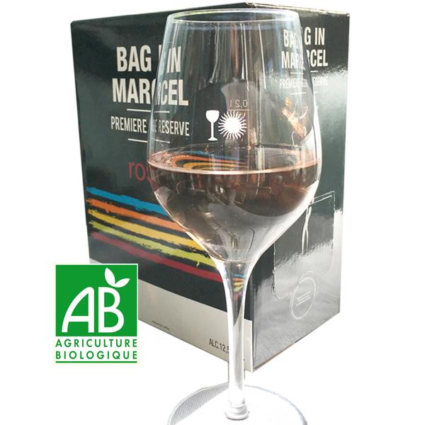 3 Liter BiB Bag in Marcel Rosé, Costieres de Nimes AOP