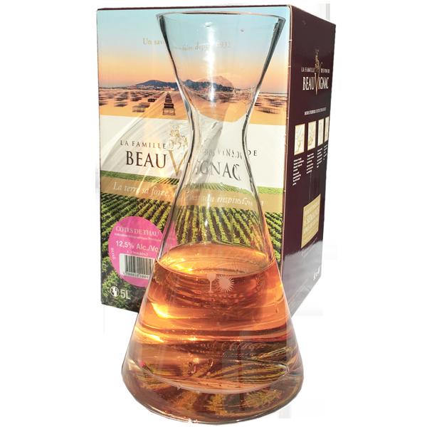 10 Liter BIB Rosé, La Famille des Vins de Beauvignac, Pays d ...